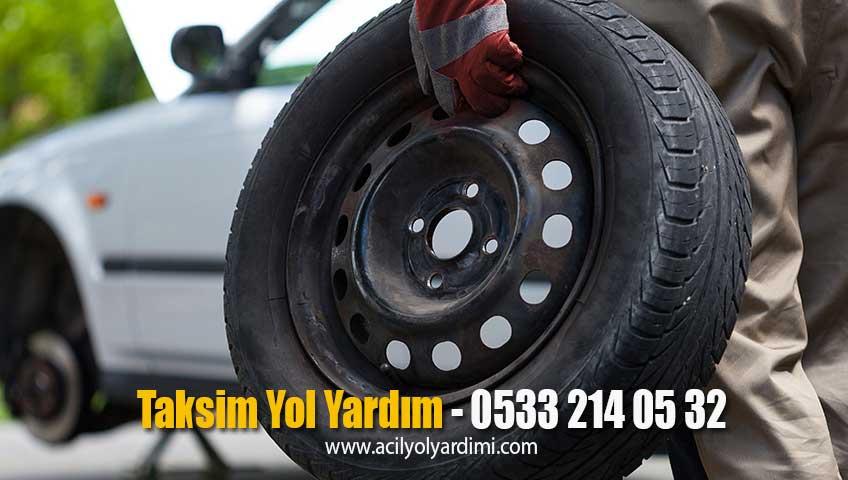 Taksim Yol Yardım Oto Elektrik Akü Takviye Çekici